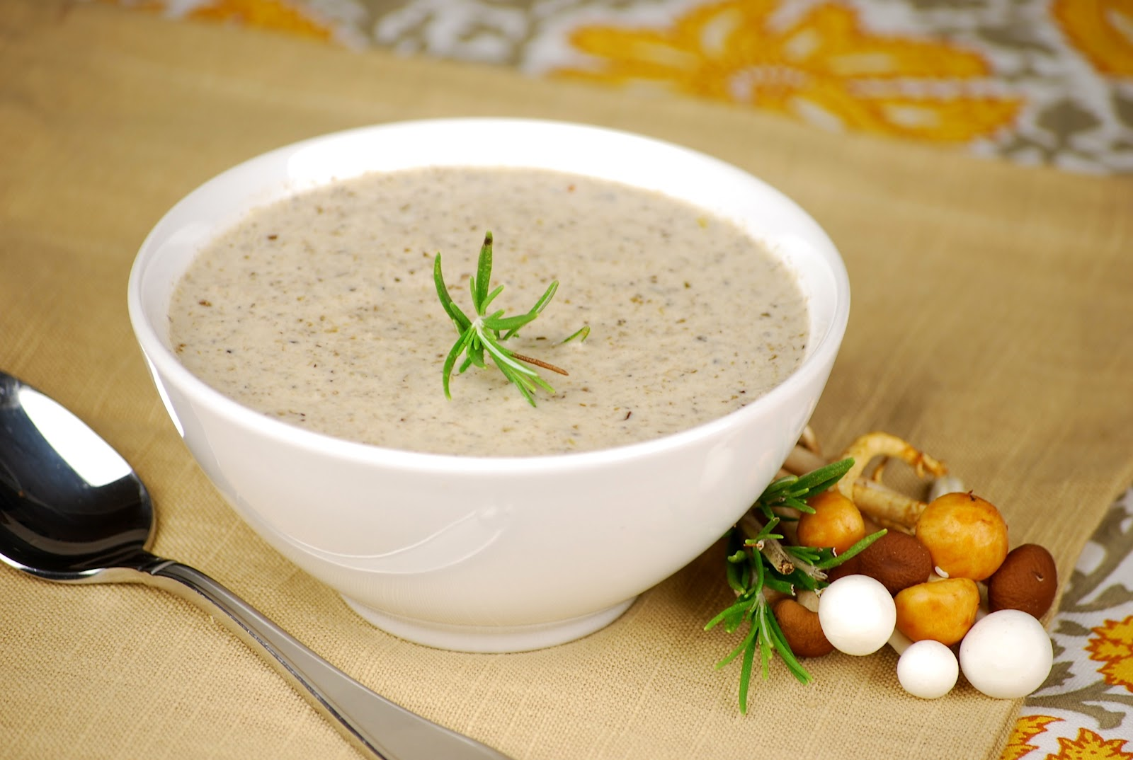 Mushroom Soup with Wheaten Bread - Food NI - Our Food So Good!