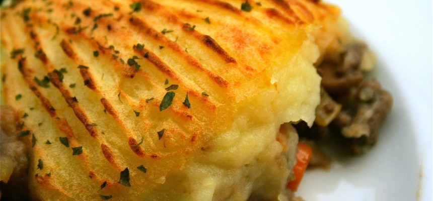 Cottage Pie With Leek And Potato Topping Food Ni Our