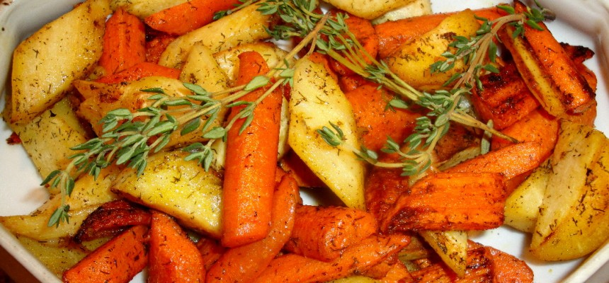 Roasted Parsnips and Carrots 2