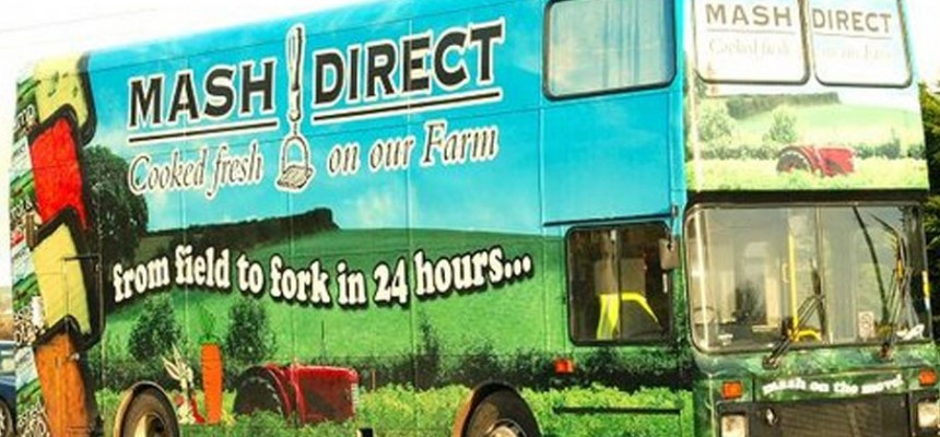Mash Direct Bus Food Ni