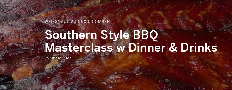Southern Style BBQ Masterclass