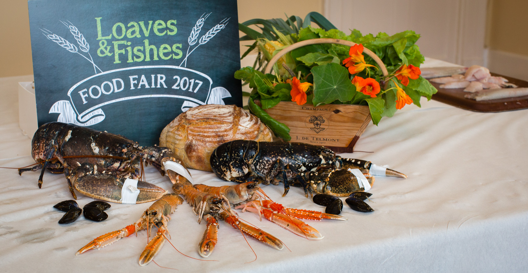 Loaves and fishes food fair 2017 food ni our food so good for Loaves and fish