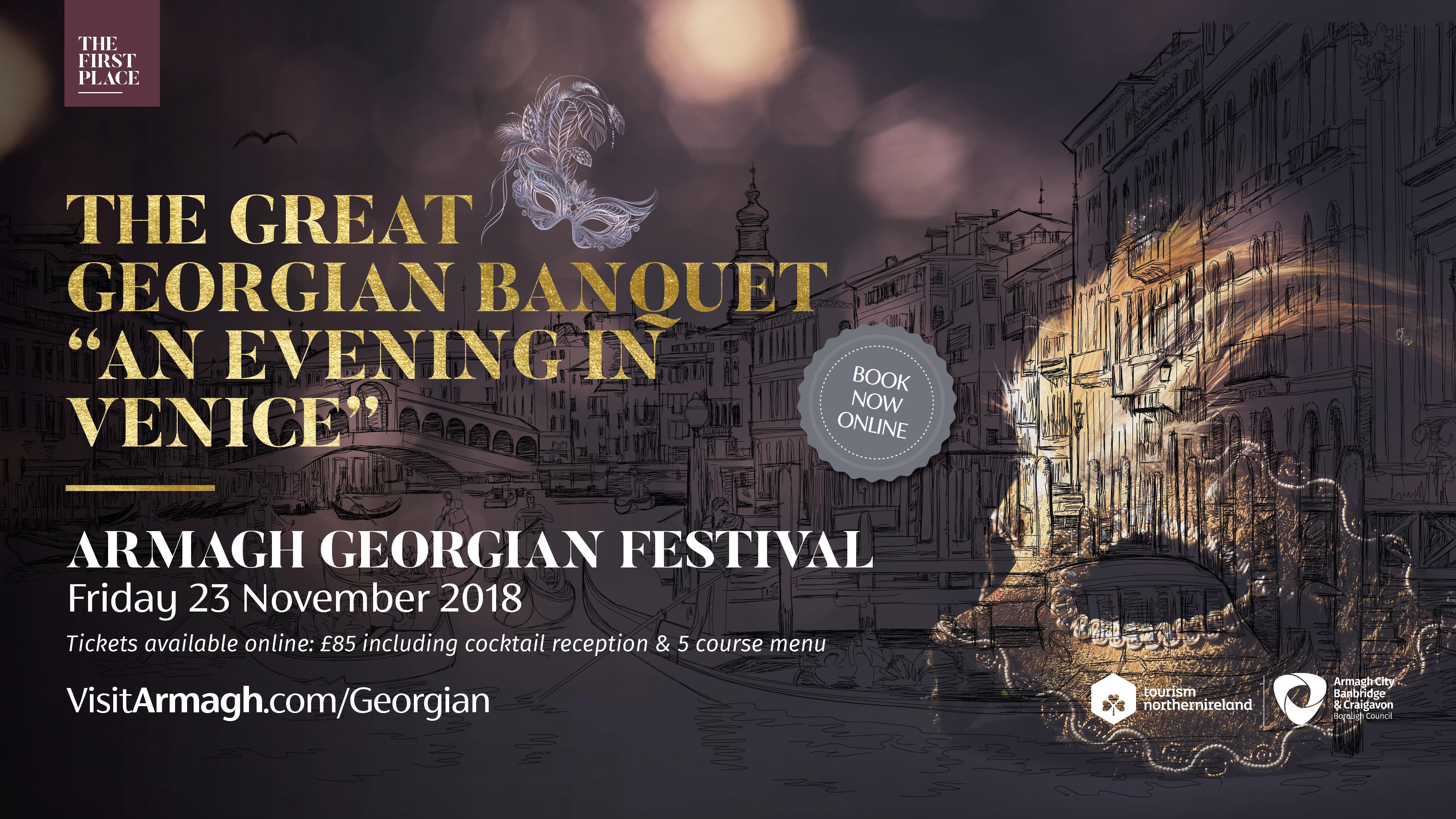 "The Great Georgian Banquet – ""An Evening in Venice"""