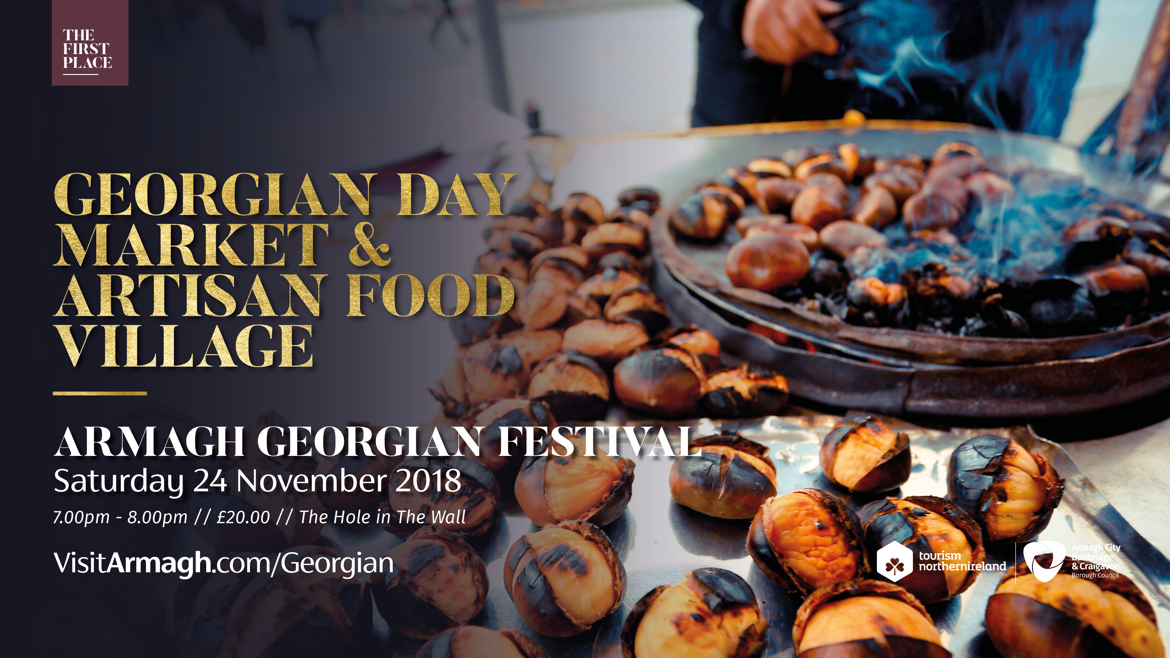 Georgian Day Artisan Market and Hot Food Village
